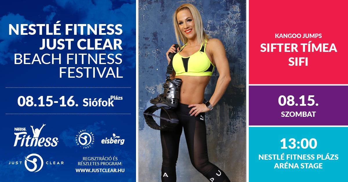 Nestlé Fitness - Just Clear Beach Fitness Fesztivál